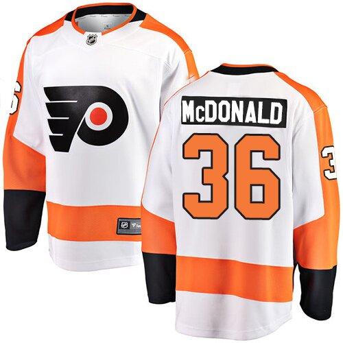Men's Philadelphia Flyers #26 Christian Folin Orange Authentic 2019 Stadium Series Hockey Jersey
