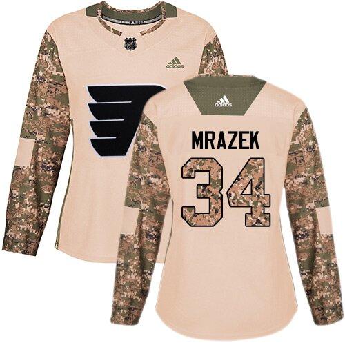 Women's Philadelphia Flyers #79 Carter Hart Black Alternate Authentic Hockey Jersey