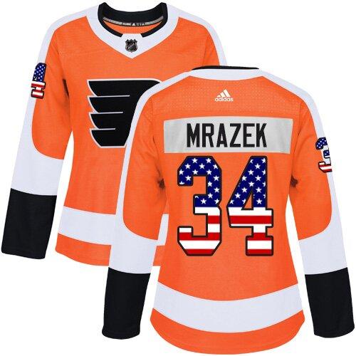 Men's Philadelphia Flyers #79 Carter Hart Orange Authentic Drift Fashion Hockey Jersey