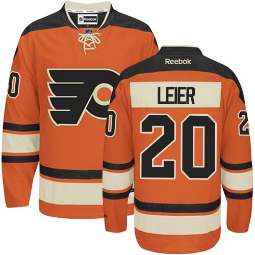 Youth Philadelphia Flyers #20 Taylor Leier Black Alternate Authentic Hockey Jersey